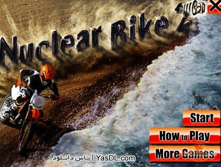 دانلود بازی Nuclear Bike 2   بازی کم حجم موتور سواری