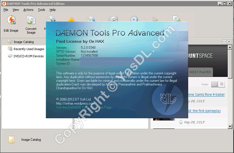 Daemon tools pro advanced 4.36.0309.01601 new full loader 0.444