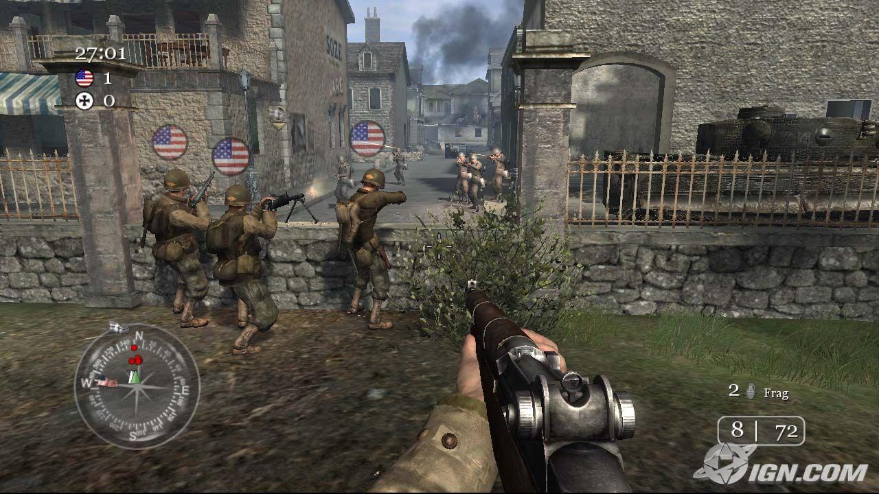 دانلود بازی Call Of Duty 1 برای کامپیوتر یاس دانلود