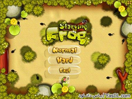 دانلود بازی کم حجم Starving Frog برای کامپیوتر