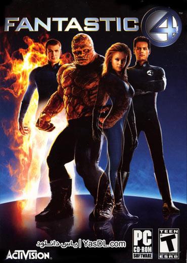 دانلود بازی چهار شگفت انگیز Fantastic Four برای کامپیوتر