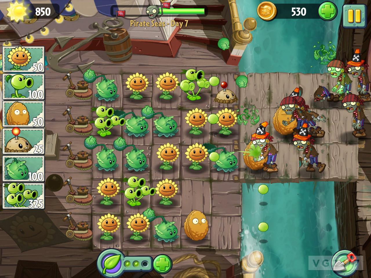 تریلر بازی plants vs zombies 2 + تصاویر گیم پلی