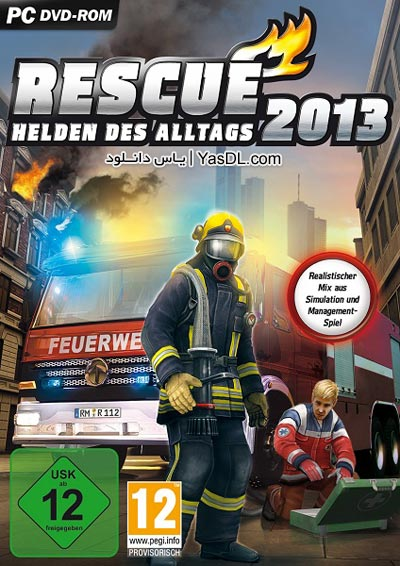 دانلود بازی Rescue 2013 Everyday Heroes - بازی شبیه ساز آتش نشانی