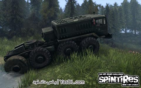 دانلود بازی Spin Tires Level UP برای کامپیوتر