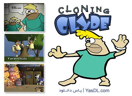 دانلود بازی کم حجم Cloning Clyde برای کامپیوتر