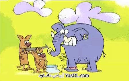 دانلود انیمیشن حیات وحش – فیل ها و ماموت ها در جاده تکامل
