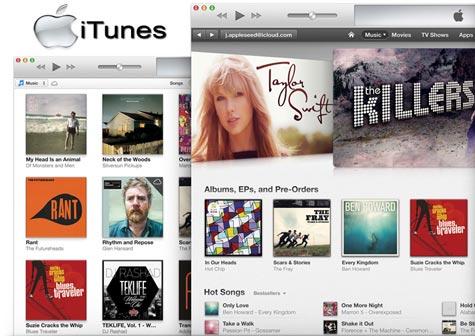 دانلود iTunes 11.1.1.11 x86/x64   نرم افزار آیتونز مدیریت آیفون و آیپد