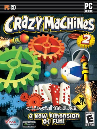 دانلود بازی Crazy Machines 2 Invaders from Space برای PC