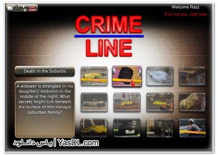 دانلود بازی کم حجم Crime Line برای کامپیوتر