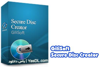 دانلود GiliSoft Secure Disc Creator 6.0.0 - گذاشتن پسورد بر روی CD و DVD