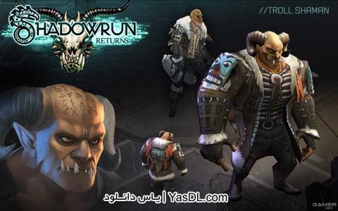 دانلود بازی Shadowrun Returns 2013 برای PC