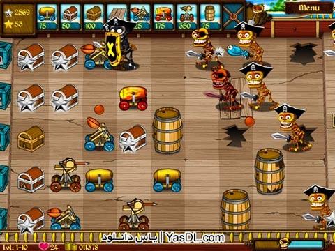 دانلود بازی کم حجم Skeleton Pirates برای PC