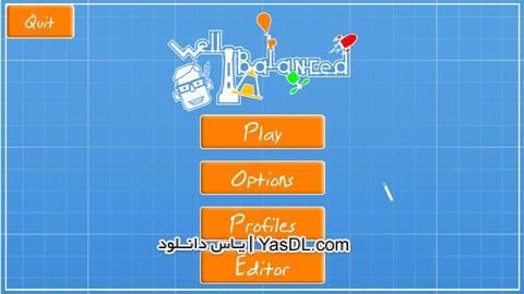 دانلود بازی کم حجم Well Balanced 2013 برای PC