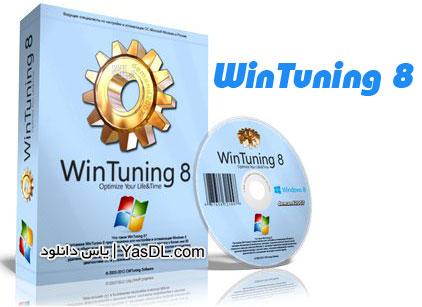 دانلود WinTuning 8 1.2 - نرم افزار بهینه سازی و افزایش سرعت ویندوز 8