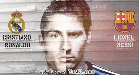 دانلود کلیپ مقایسه مسی و رونالدو - Messi Vs Ronaldo The Ultimate War