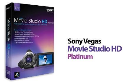 دانلود نرم افزار ویرایش فیلم Sony Vegas Movie Studio HD Platinum