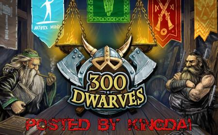 دانلود بازی کم حجم 300Dwarves برای PC