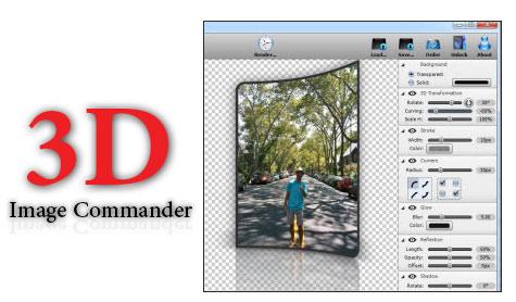 دانلود 3D Image Commander 2.20 - نرم افزار ساخت تصاویر 3 بعدی