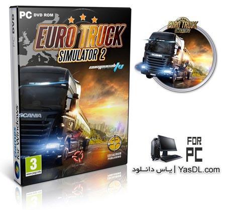 دانلود بازی Euro Truck Simulator 2 بازی شبیه ساز رانندگی با کامیون