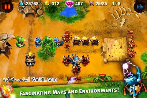 دانلود بازی کم حجم Goblin Defenders برای PC
