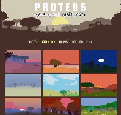 دانلود بازی کم حجم Proteus برای PC