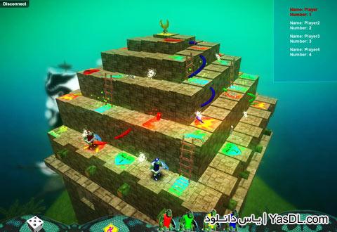دانلود بازی مار و پله Snake and Ladder برای کامپیوتر