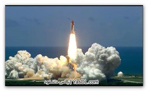 دانلود کلیپ دیدنی از لحظه پرتاب شاتل فضایی