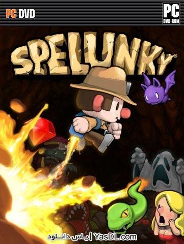دانلود بازی کم حجم Spelunky HD برای PC
