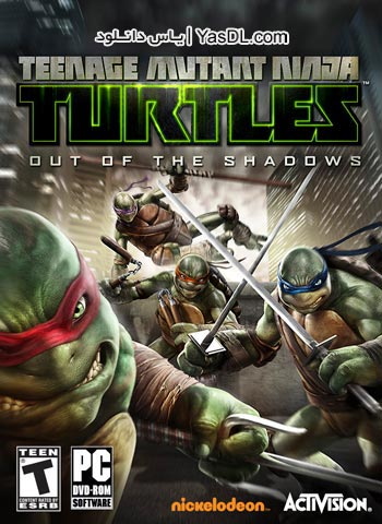 دانلود بازی TMNT Out of the Shadows 2013 برای PC