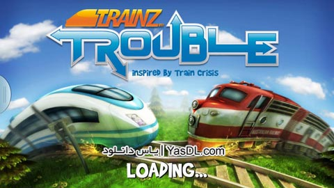 دانلود بازی کم حجم کنترل قطار Trainz Trouble برای کامپیوتر