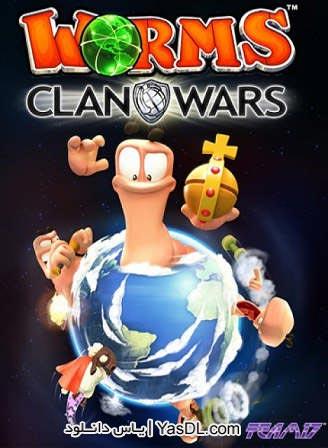 دانلود بازی Worms Clan Wars 2013 برای PC
