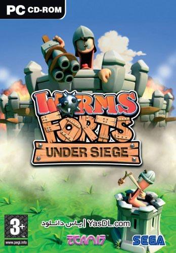 دانلود بازی Worms Forts Under Siege برای PC