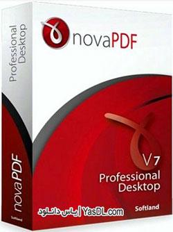 دانلود novaPDF Professional Desktop 7.7 Build 393 - نرم افزار ساخت PDF