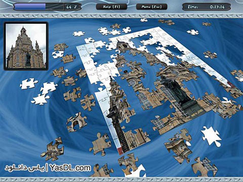 دانلود بازی کم حجم 3D Puzzle Venture برای PC