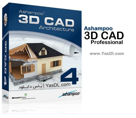 دانلود Ashampoo 3D CAD Professional 4.0.1 طراحی پروژه های ساختمانی