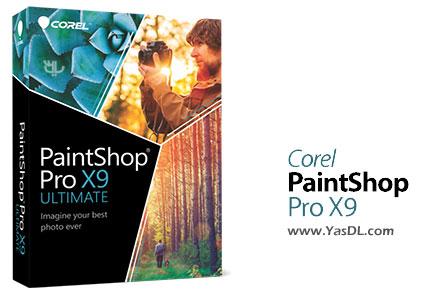 دانلود Corel PaintShop Pro X9 Ultimate نرم افزار ویرایش تصاویر