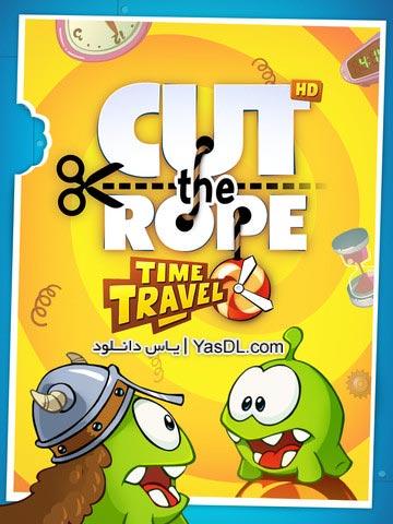 دانلود بازی Cut the Rope Time Travel 1.4.0 HD برای اندروید