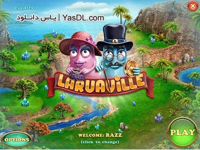 دانلود بازی کم حجم Laruaville برای PC