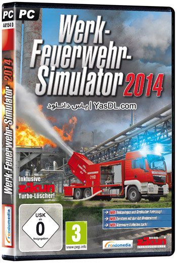 دانلود بازی Plant Firefighter Simulator 2014 برای PC