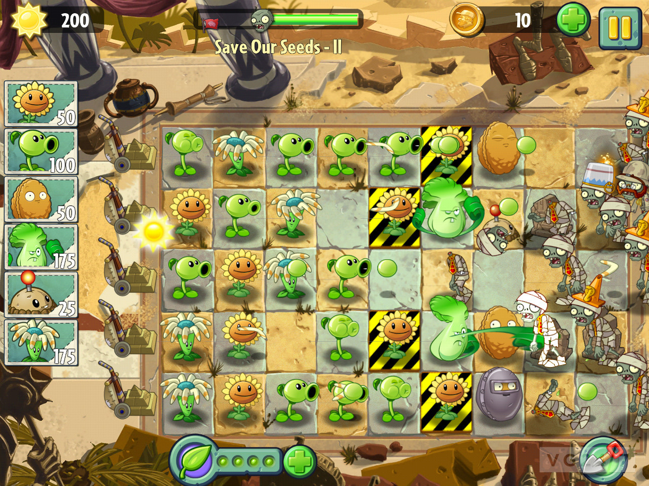 Play Plants Vs Zombies 2 7.4.1 HD For Android + Infinity