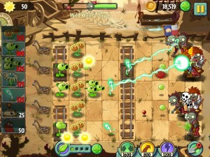 Plants vs Zombies 2-5