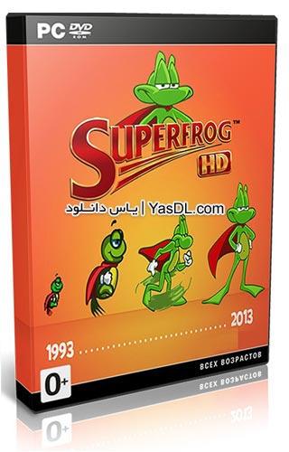 دانلود بازی کم حجم Superfrog HD برای PC