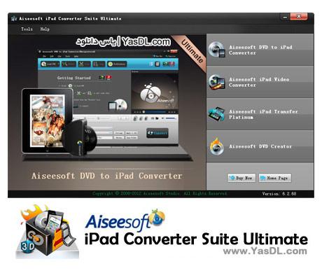 دانلود Aiseesoft iPad Converter Suite Ultimate 6.2.76.9310 نرم افزار تبدیل فرمت های ویدئویی به آی پد