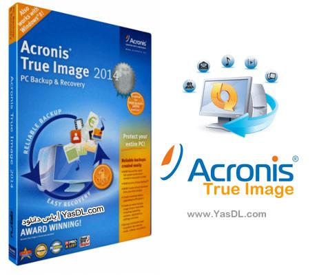 دانلود Acronis True Image Premium 2014 Build 6688   گرفتن پشتیبان از ویندوز