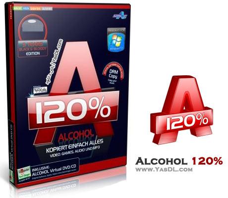 دانلود Alcohol 120% 2.0.3.7612 Retail - نرم افزار رایت و ساخت درایو مجازی