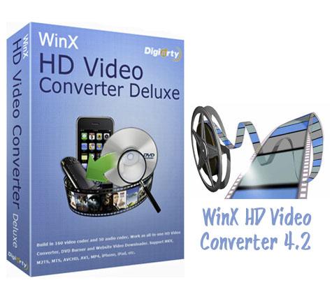 دانلود WinX HD Video Converter Deluxe 4.2 - نرم افزار مبدل ویدئو HD