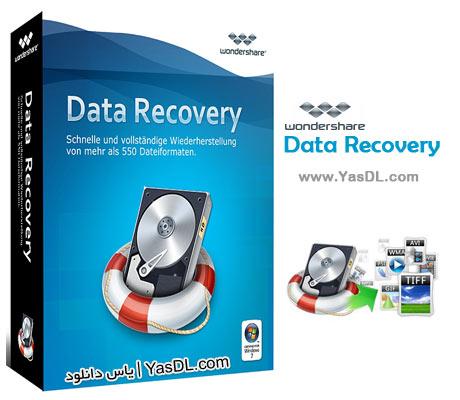 دانلود Wondershare Data Recovery 4.8.3.4 + Portable - ریکاوری اطلاعات از دست رفته