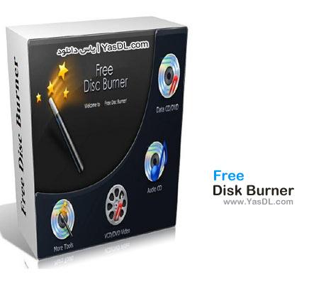 دانلود Free Disk Burner 3.0.19.1022 - نرم افزار رایگان رایت انواع داده