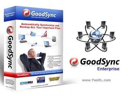 دانلود Goodsync Enterprise 11.5.9.9 - نرم افزار پشتیبان گیری و هماهنگ سازی فایل ها