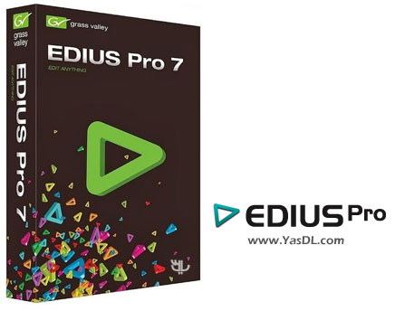 دانلود Grass Valley EDIUS Pro 7.50 Build 228 x64 - نرم افزار میکس و مونتاژ فیلم